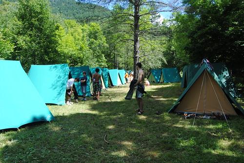 Campaments estiu 2011 a Castellar de n'Hug