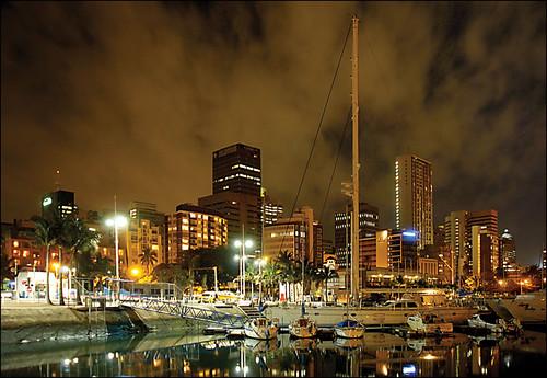 Durban Harbour at Night