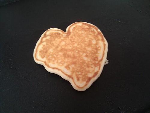 Heart Pancake