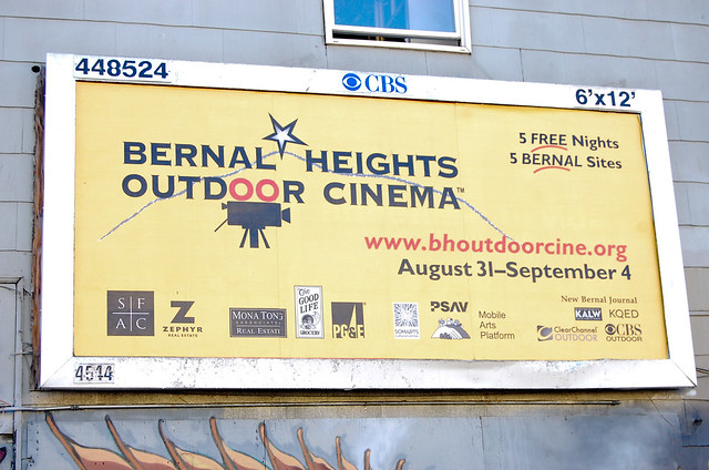 Bernal Heights Outdoor Cinema 2011