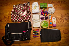 Diaper Bag Contents- 46-365 #TeamPhotoBlog