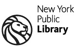 NYPL Library Lion Logo Circle with Title Small