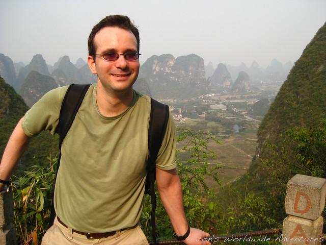 Aaron at Yangshuo