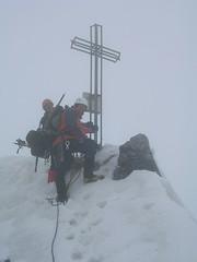 Geschafft-Gipfelkreuz von Ortler