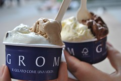 Grom Gelato in the West Village