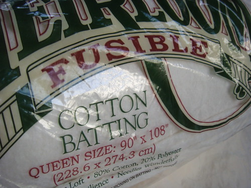 Batting - fusible!