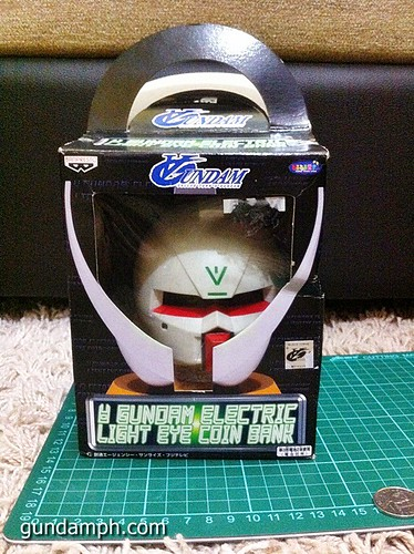 Turn A Gundam Head Display Coin Bank (5)