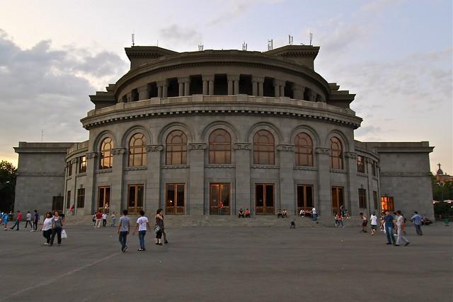 Opéra d'Erevan, Arménie