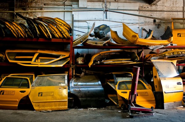 220/365 - Taxi Garage, Long Island City.