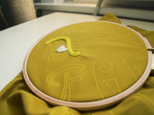 embroidery!