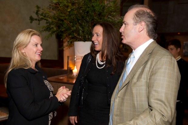 Hilary Newsom, Jill Hamer, Bob Hamer