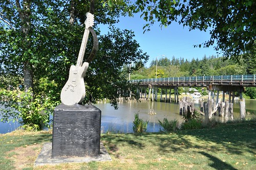 Kurt Cobain Memorial, Riverfront Park, Aberdeen, Washington, Aug. 2011