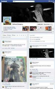 Facebook Timeline - Richard Gregory