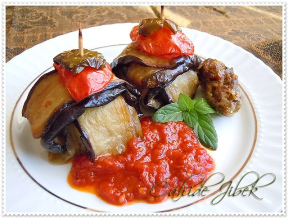patlıcanlı kebap