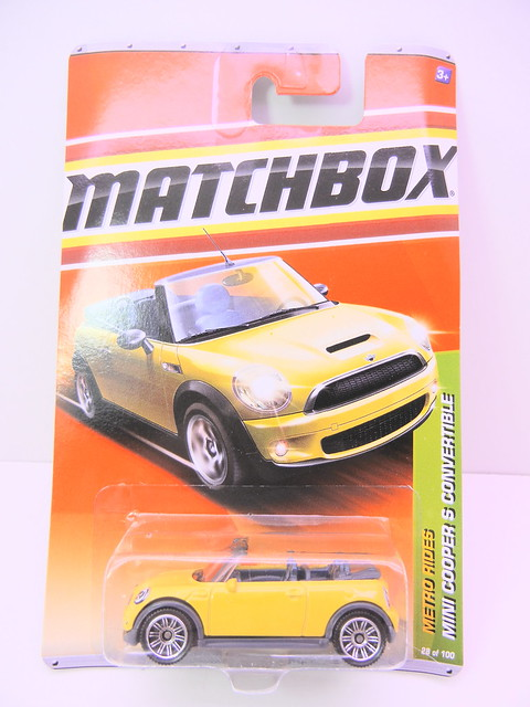 matchbox mini cooper s convertible (1)