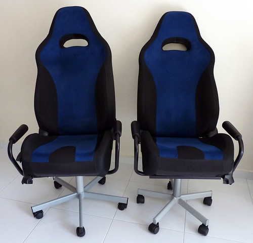 car seat desk chair conversion hanging online india converting seats to office chairs part i intro the here s what they look like after re by no means perfect but maybe those of you who would undertake this endeavour in future could