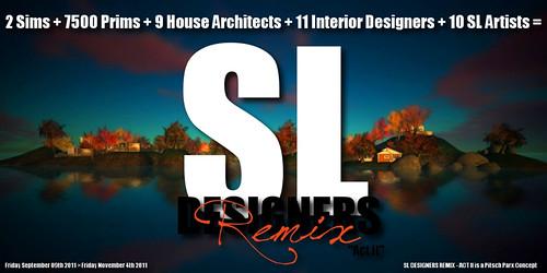 SL Designers Remix - Act II: Poster