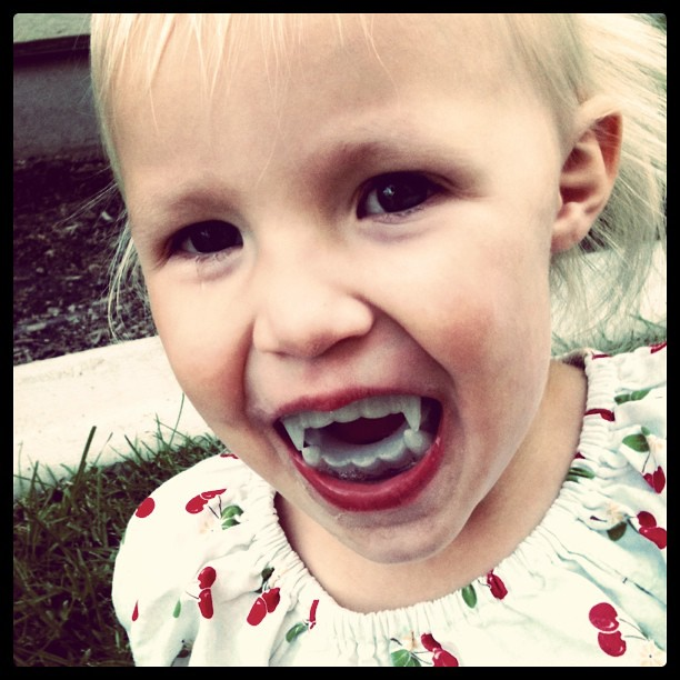 The vampire teeth have arrived at target. #vampire #Halloween #teamedward