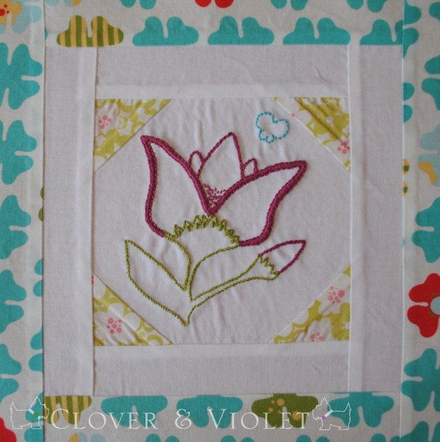 Embroidery 101: Block Eight