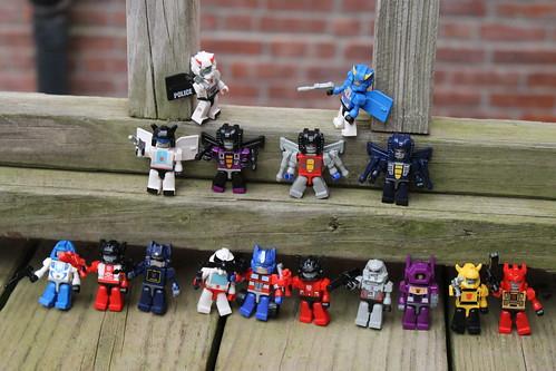 Transformers mini-figures