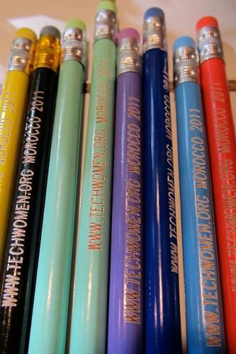 TechWomen pencils