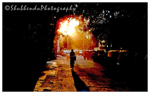 its look quite different . . . I stand and think twice before I took the shot . . .  by ShubhenduPhotography