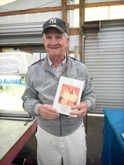 Lefty Wooten with His Book