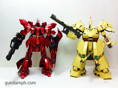 MG The-O PMX-003 Review OOB Build (78)