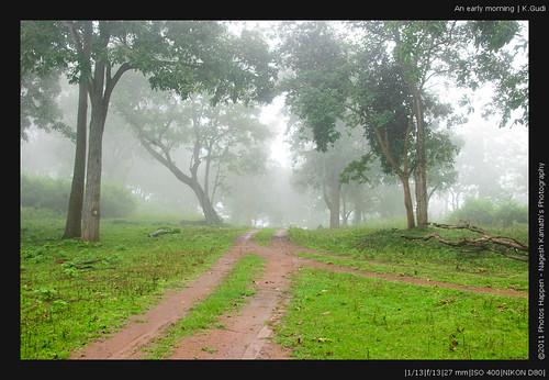 An early morning | K.Gudi