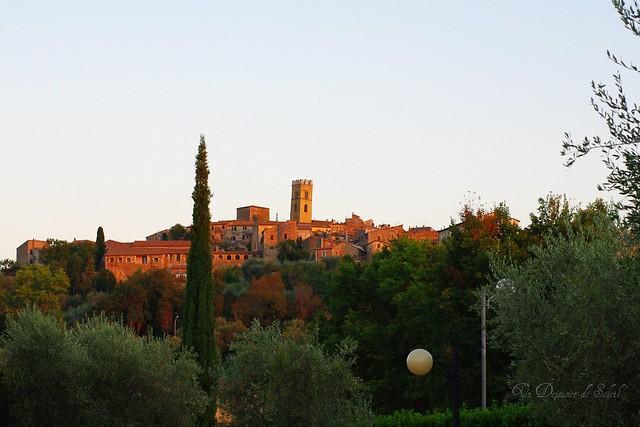 Toscan sunset