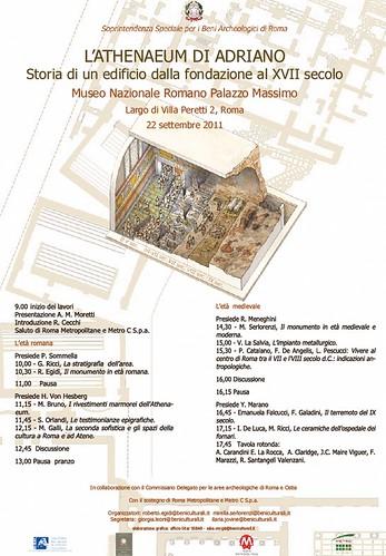 Rome the imperial fora project 1998 2011 programma l for Programma arredamenti ostia