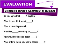 Evaluation [critical thinking skills]