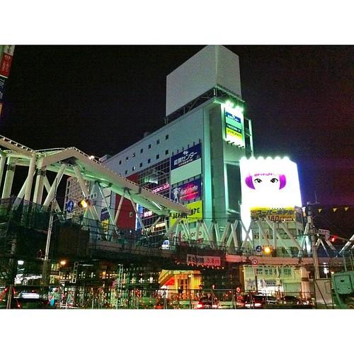 New阿倍野歩道橋形ができてきたよ! #iphonography #instagram