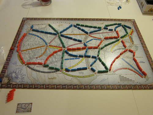 Winning at Ticket to Ride