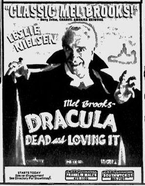 Dracula Dead and Loving It