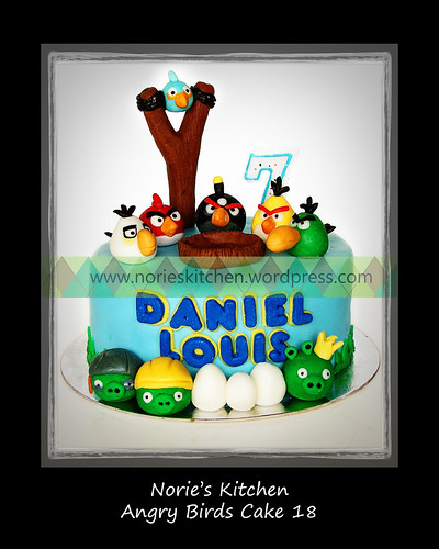 Norie's Kitchen - Angry Birds Cake 18 by Norie's Kitchen