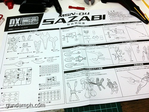 MSIA DX Sazabi 12 inch model (23)