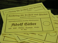 Voting was a lot easier under Adolf Hitler