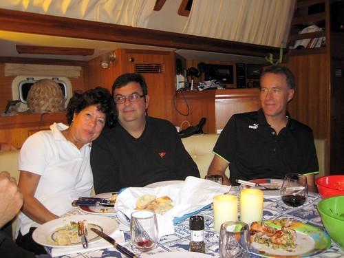 Phyllis, Bob and Rick