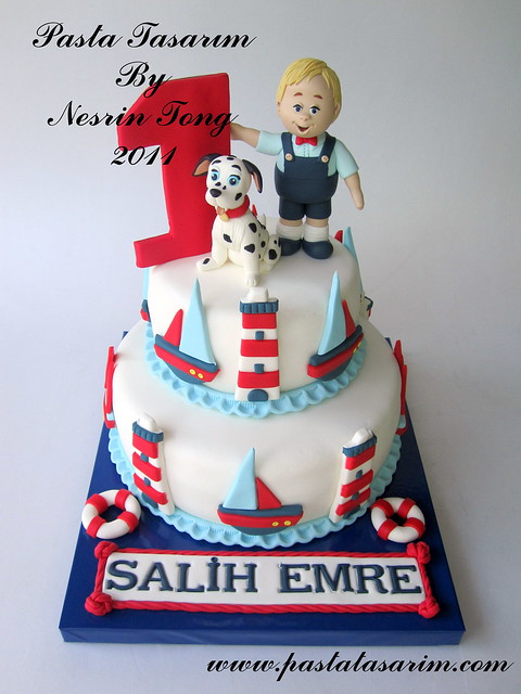 1ST BIRTHDAY CAKE - MARIN DIZAYN