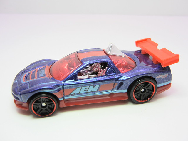 hot wheels acura nsx blue (3)