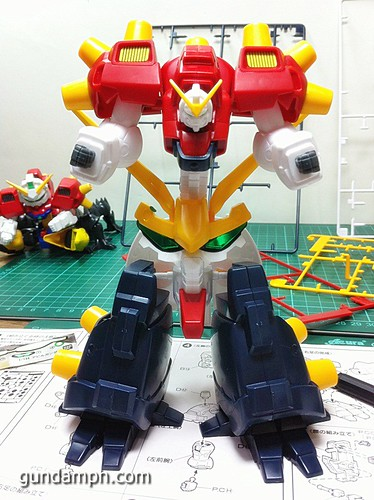 1 144 Devil Gundam Review OOB Build (24)