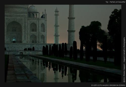 Taj - Partial yet beautiful