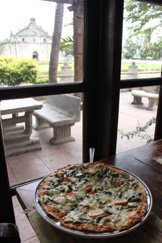 Pinakbet Pizza at Herencia Cafe - 1