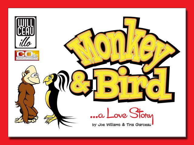 The Monkey & Bird Mini-Comic