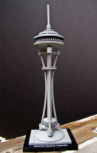 Day 260 :: 365 ...::... Lego Love -- Space Needle by Echo9er