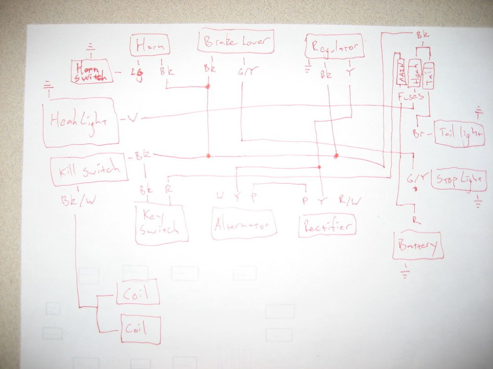 medium resolution of the plan is to re do the wiring on my 1975 honda cl360 so i made up this wiring diagram