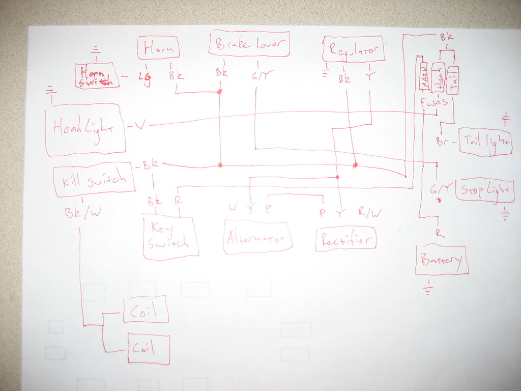 hight resolution of the plan is to re do the wiring on my 1975 honda cl360 so i made up this wiring diagram
