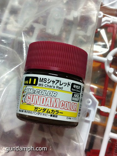 Mr Hobby Char's Red Color