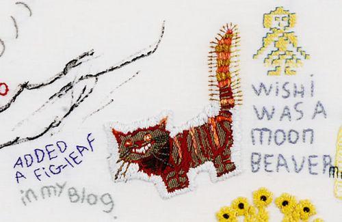 tilleke schwarz detail of kat